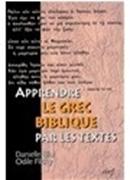 Bild von Apprendre le grec biblique