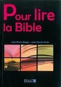 Bild von Pour lire la Bible