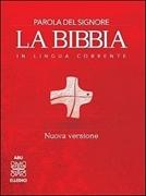 Bild von La Bibbia in lingua corrente rigida rossa
