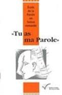 Bild von Ecole de la Parole: Tu as ma parole