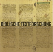 Bild von Biblische Textforschung