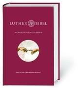 Cover-Bild zu Lutherbibel mit Meisterwerken von Michelangelo